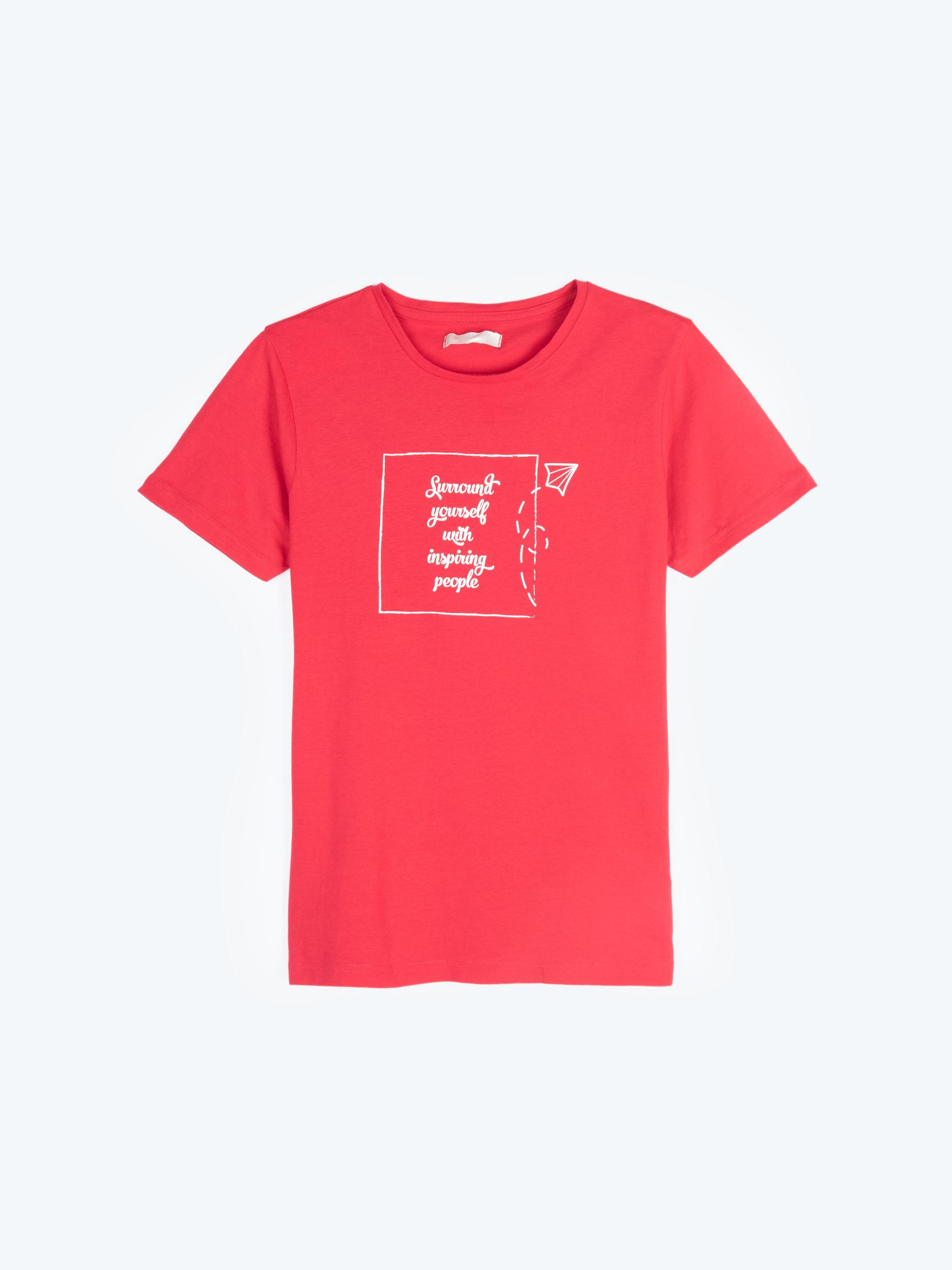 GATE Bavlněné tričko s potiskem