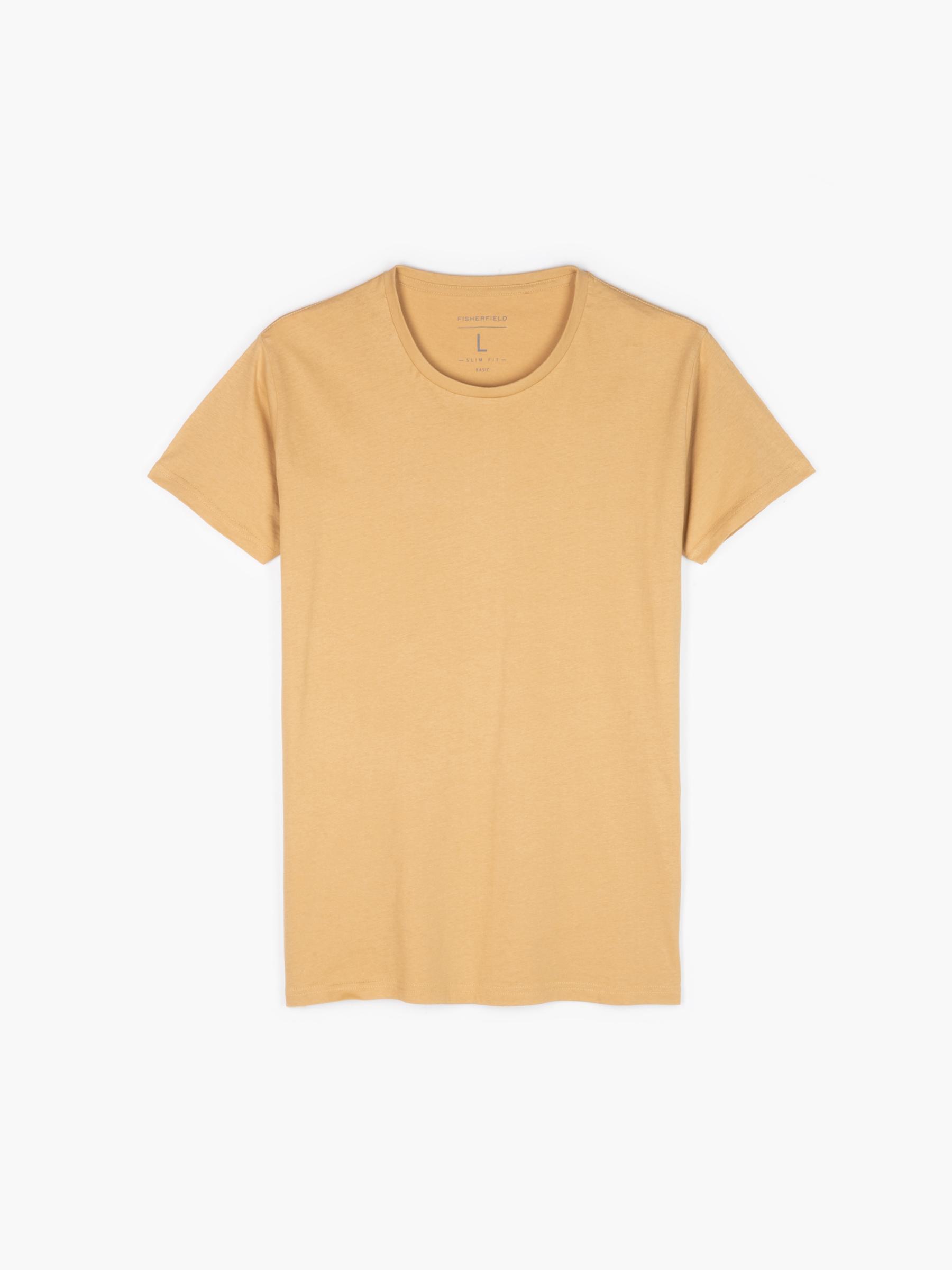 GATE Základní tričko slim fit