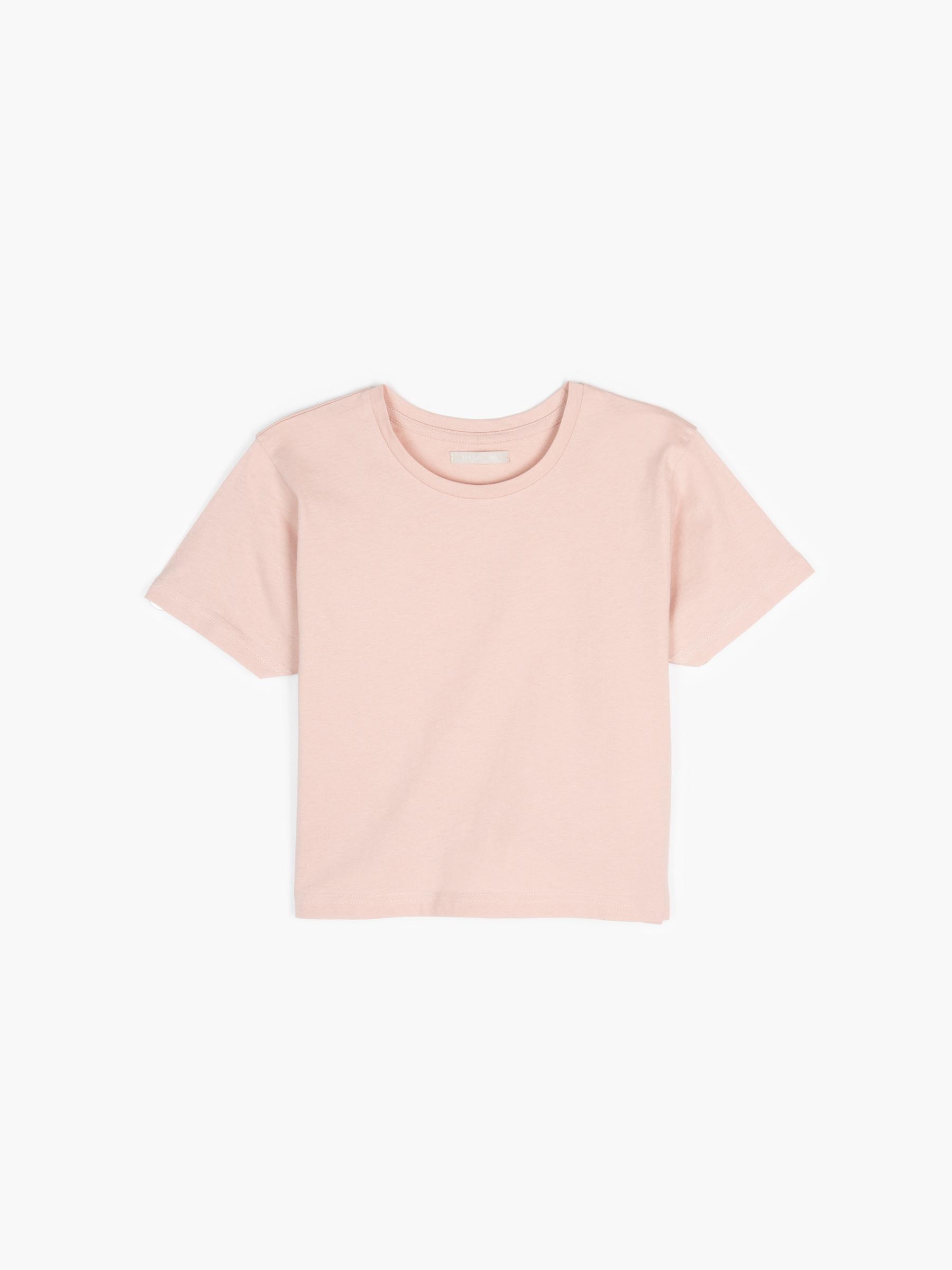 GATE Základné bavlnené krátke tričko