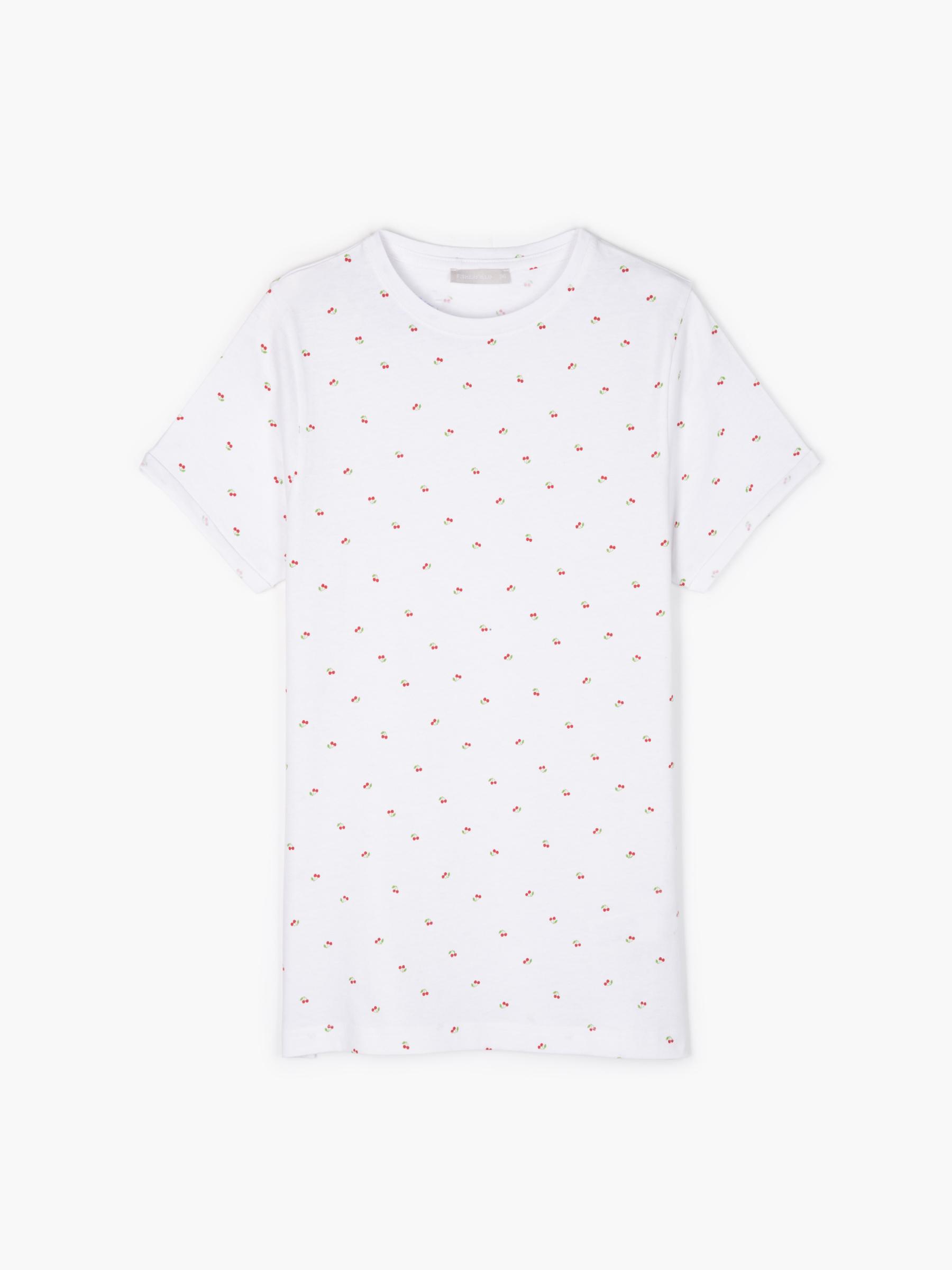GATE Potištěné bavlněné tričko