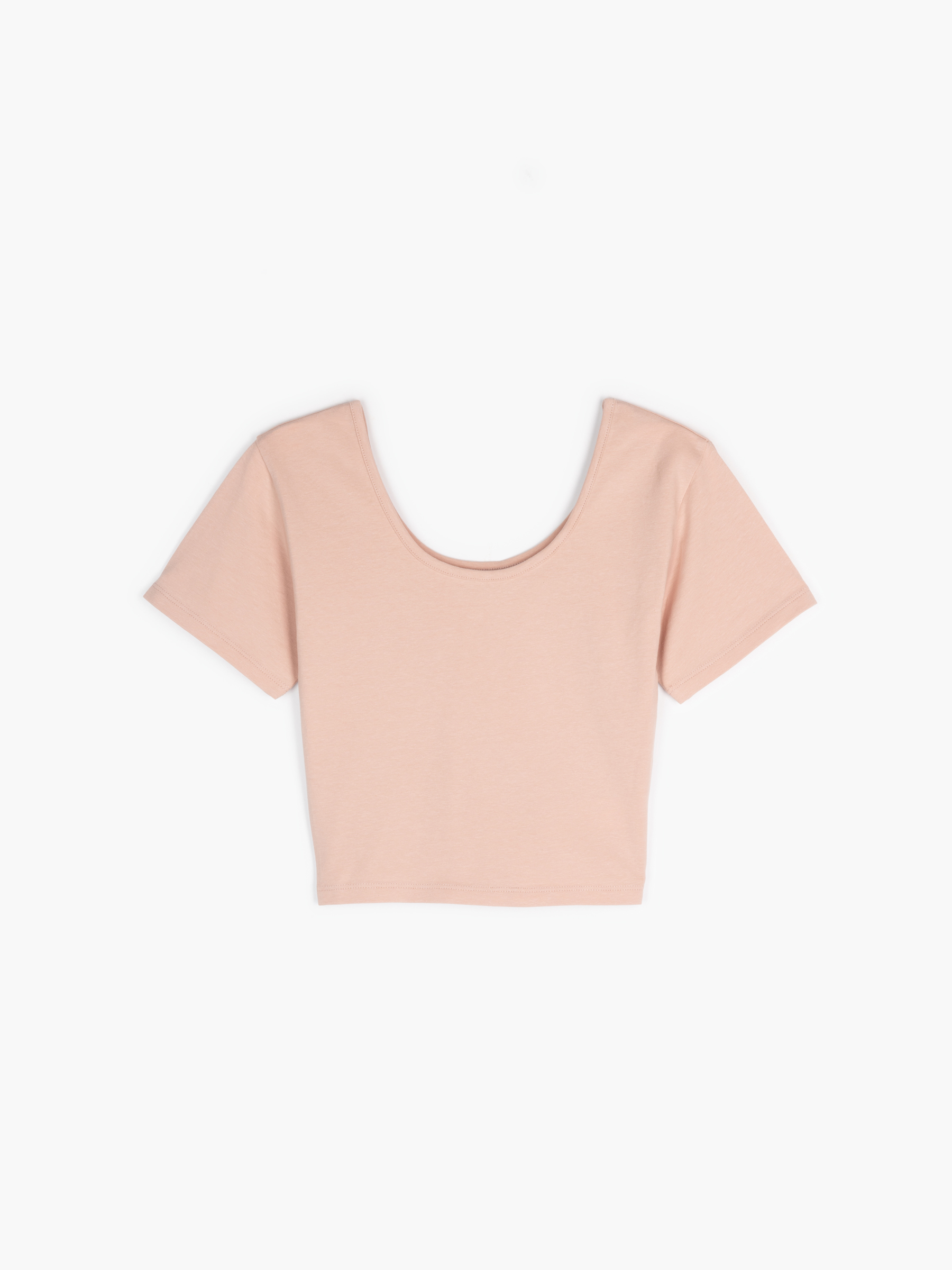 GATE Základní krátké elastické tričko