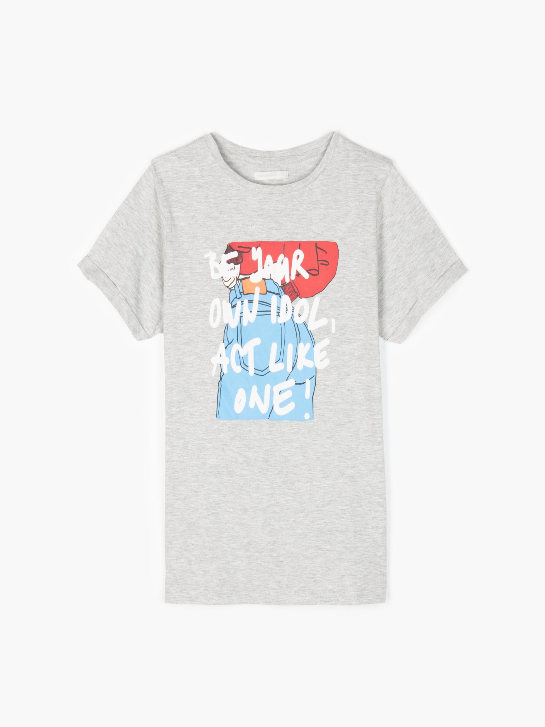 GATE Bavlněné tričko s grafickým potiskem