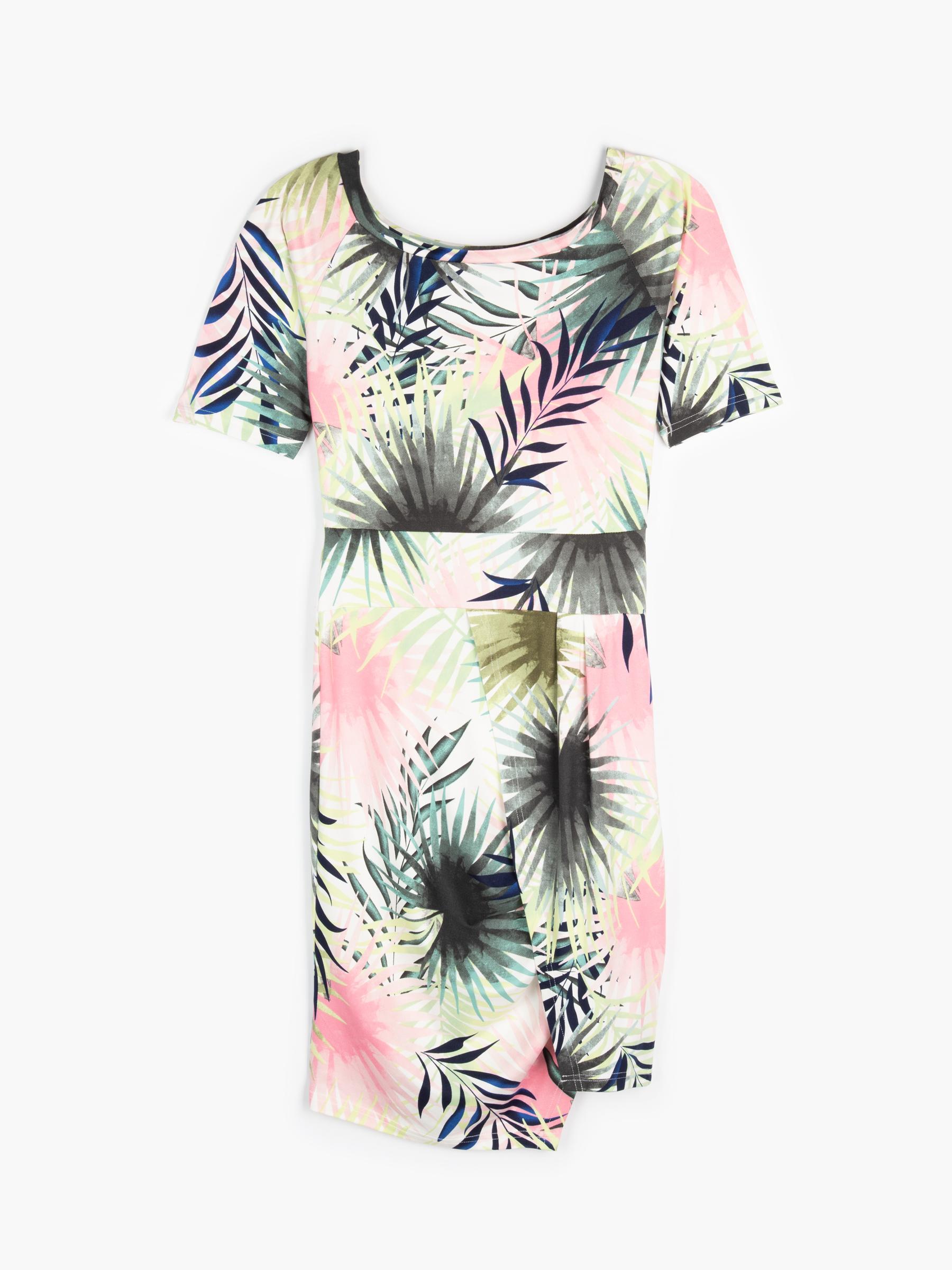 GATE Púzdrové kvetované šaty