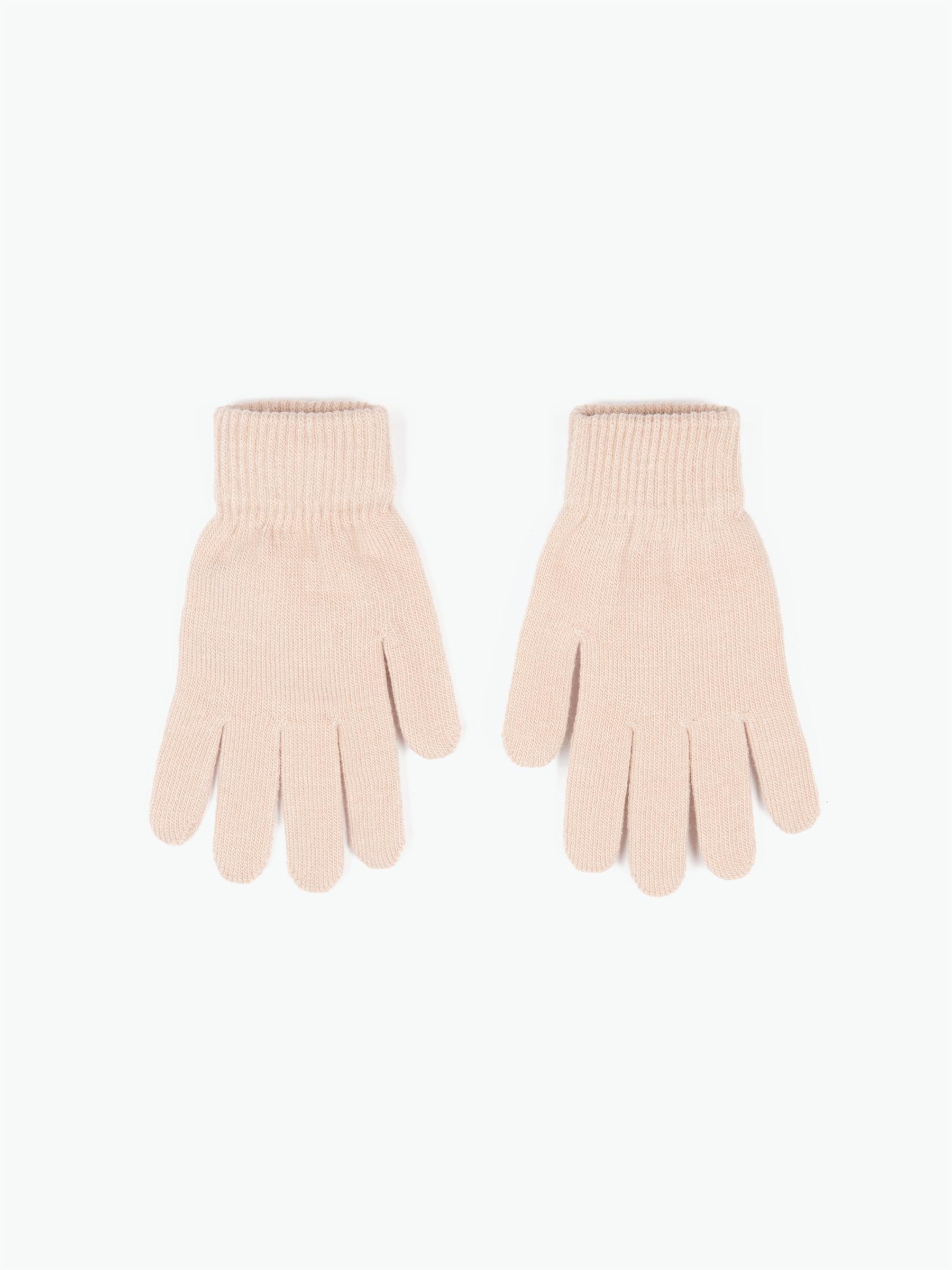GATE Zakladní pletené dámské basic rukavice